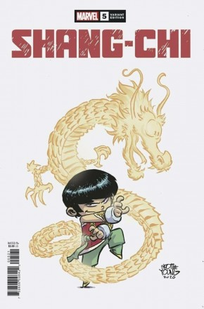SHANG-CHI #5 SKOTTIE YOUNG BABY VARIANT COVER