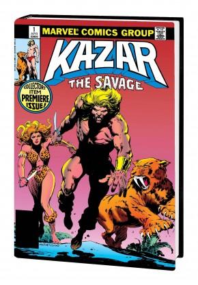 KA-ZAR THE SAVAGE OMNIBUS HARDCOVER