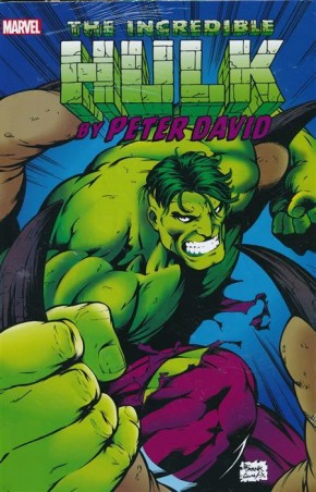 INCREDIBLE HULK BY PETER DAVID OMNIBUS VOLUME 3 HARDCOVER