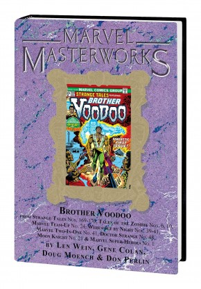 MARVEL MASTERWORKS BROTHER VOODOO VOLUME 1 DM VARIANT #305 EDITION HARDCOVER