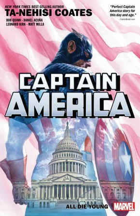 CAPTAIN AMERICA BY TA-NEHISI COATES VOLUME 4 ALL DIE YOUNG GRAPHIC NOVEL