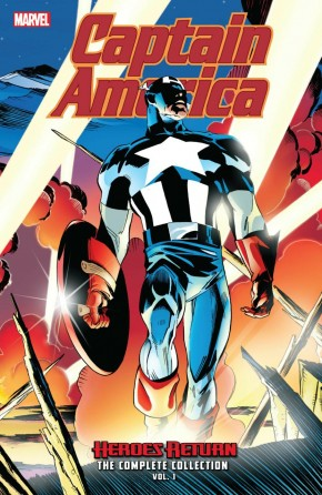CAPTAIN AMERICA HEROES RETURN THE COMPLETE COLLECTION VOLUME 1 GRAPHIC NOVEL