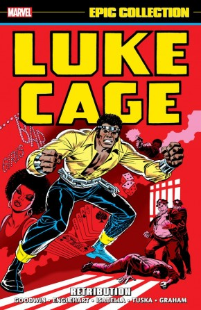 LUKE CAGE EPIC COLLECTION RETRIBUTION GRAPHIC NOVEL