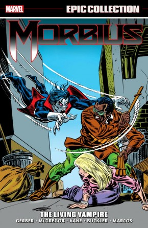 MORBIUS EPIC COLLECTION THE LIVING VAMPIRE GRAPHIC NOVEL