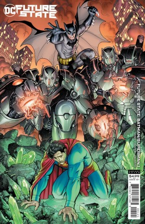 FUTURE STATE BATMAN SUPERMAN #1 ARTHUR ADAMS CARD STOCK VARIANT