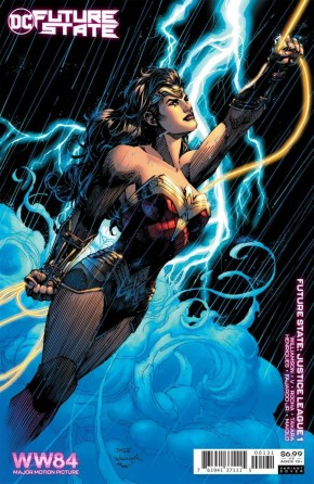 FUTURE STATE JUSTICE LEAGUE #1 WONDER WOMAN 1984 JIM LEE CARD STOCK VARIANT