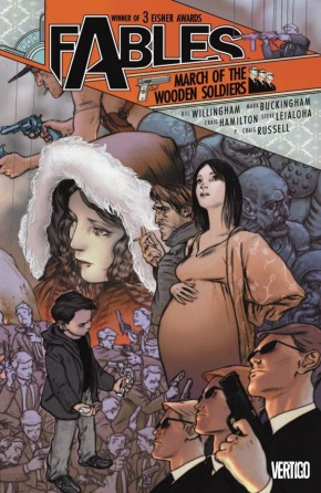 FABLES VOLUME 4 MARCH OF THE WOODEN SOLDIERS GRAPHIC NOVEL