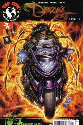 DARKNESS LEVEL #1 MICHAEL TURNER 1 IN 4 INCENTIVE VARIANT