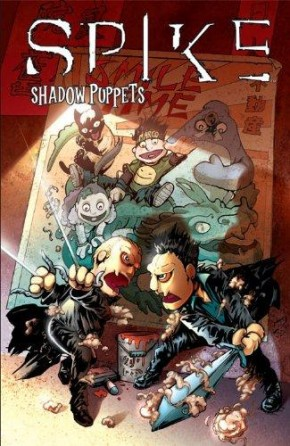 SPIKE SHADOW PUPPETS GRAPHIC NOVEL