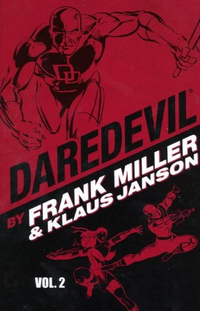 DAREDEVIL BY MILLER AND JANSON VOLUME 2 GRAPHIC NOVEL