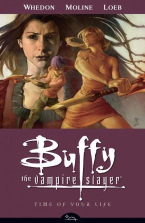 BUFFY THE VAMPIRE SLAYER SEASON 8 VOLUME 4 TIME OF YOUR LIFE GRAPHIC NOVEL
