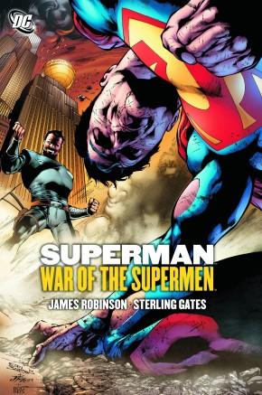 SUPERMAN WAR OF THE SUPERMEN HARDCOVER