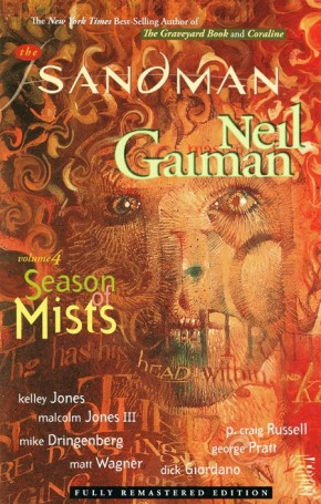 SANDMAN VOLUME 4 SEASONS OF MISTS GRAPHIC NOVEL