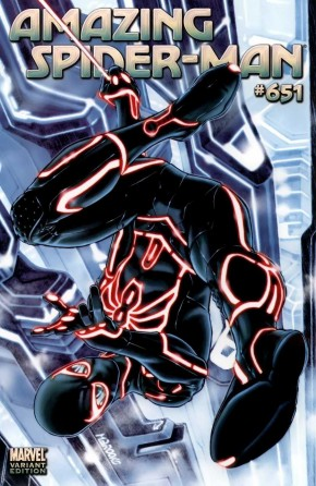 AMAZING SPIDER-MAN #651 TRON BROOKS 1 IN 15 INCENTIVE