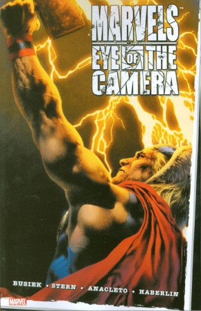 MARVELS EYE OF THE CAMERA GRAPHIC NOVEL