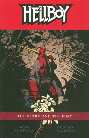 HELLBOY VOLUME 12 THE STORM AND THE FURY GRAPHIC NOVEL