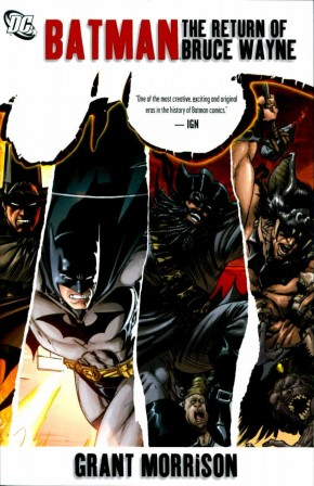 BATMAN THE RETURN OF BRUCE WAYNE GRAPHIC NOVEL