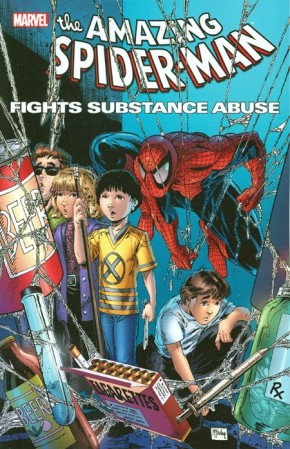 SPIDER-MAN FIGHTS SUBSTANCE ABUSE GRAPHIC NOVEL