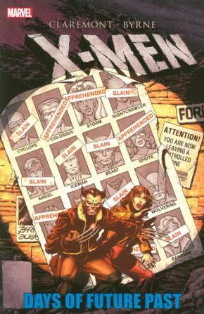 X-MEN DAYS OF FUTURE PAST GRAPHIC NOVEL