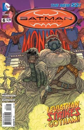 BATMAN INCORPORATED #6 (2012 SERIES) VARIANT