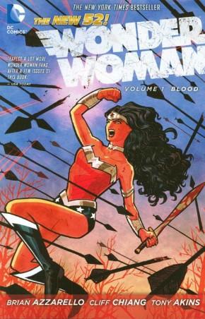 WONDER WOMAN VOLUME 1 BLOOD GRAPHIC NOVEL
