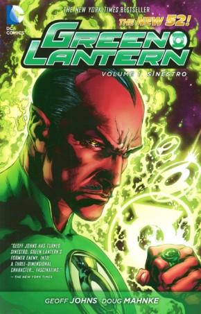 GREEN LANTERN VOLUME 1 SINESTRO GRAPHIC NOVEL
