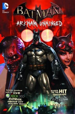 BATMAN ARKHAM UNHINGED VOLUME 1 HARDCOVER