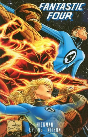 FANTASTIC FOUR BY JONATHAN HICKMAN 5 GRAPHIC NOVEL