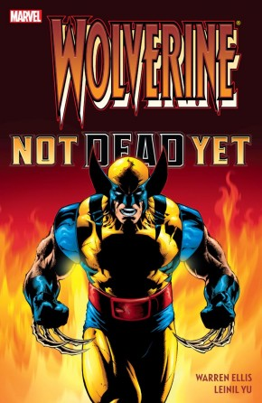 WOLVERINE NOT DEAD YET HARDCOVER