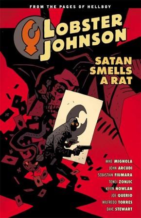 LOBSTER JOHNSON VOLUME 3 SATAN SMELLS A RAT GRAPHIC NOVEL