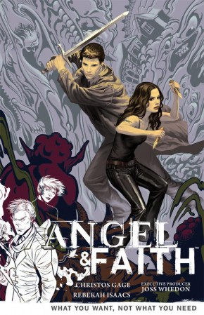 ANGEL AND FAITH SEASON 9 VOLUME 5 WHAT YOU WANT NOT WHAT YOU NEED GRAPHIC NOVEL