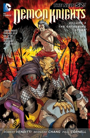 DEMON KNIGHTS VOLUME 3 THE GATHERING STORM GRAPHIC NOVEL