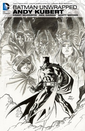 BATMAN UNWRAPPED BY ANDY KUBERT DELUXE EDITION HARDCOVER