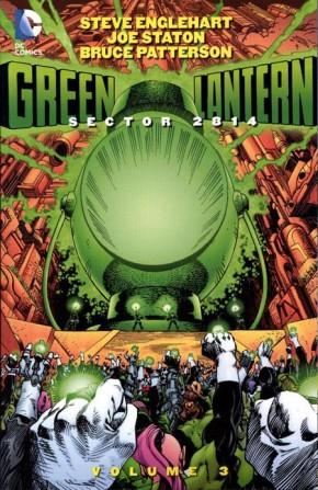 GREEN LANTERN SECTOR 2814 VOLUME 3 GRAPHIC NOVEL