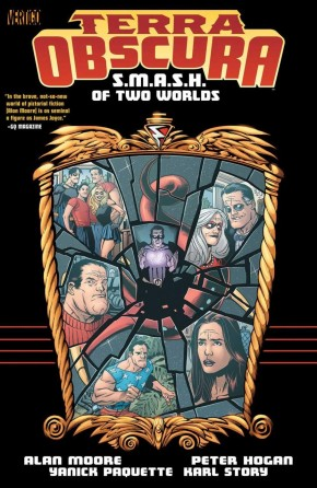 TERRA OBSCURA SMASH OF TWO WORLDS GRAPHIC NOVEL