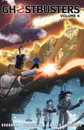 GHOSTBUSTERS VOLUME 6 TRAINS, BRAINS AND GHOSTLY REMAINS GRAPHIC NOVEL