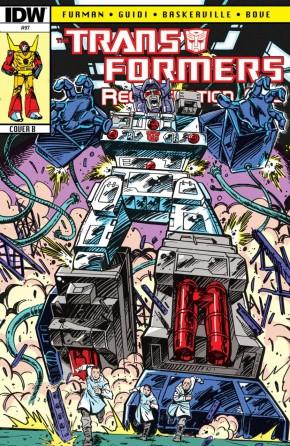 TRANSFORMERS REGENERATION ONE #97 (COVER B)