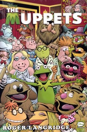 Muppets Omnibus Hardcover Langridge Cover