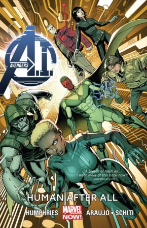 AVENGERS A.I. VOLUME 1 HUMAN AFTER ALL GRAPHIC NOVEL
