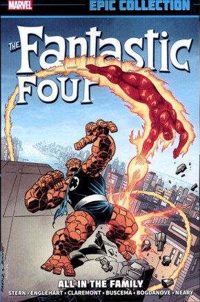 FANTASTIC FOUR EPIC COLLECTION ALL IN THE FAMILY GRAPHIC NOVEL