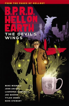 BPRD HELL ON EARTH VOLUME 10 THE DEVILS WINGS GRAPHIC NOVEL
