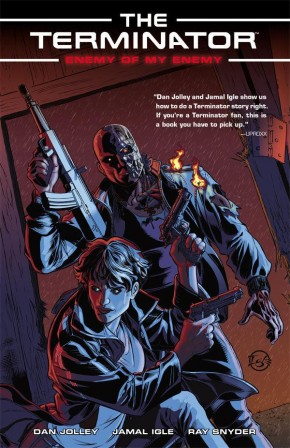 TERMINATOR ENEMY OF MY ENEMY GRAPHIC NOVEL