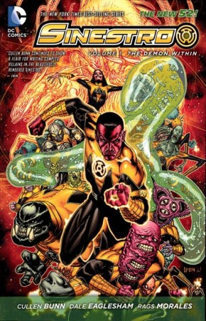 SINESTRO VOLUME 1 THE DEMON WITHIN GRAPHIC NOVEL