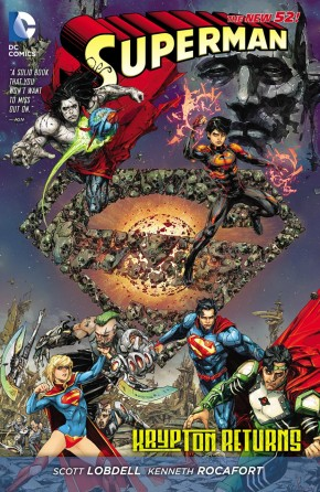 SUPERMAN KRYPTON RETURNS HARDCOVER