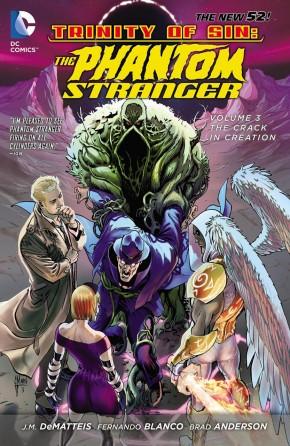 TRINITY OF SIN PHANTOM STRANGER VOLUME 3 THE CRACK IN CREATION GRAPHIC NOVEL