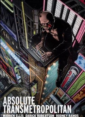 ABSOLUTE TRANSMETROPOLITAN VOLUME 1 HARDCOVER