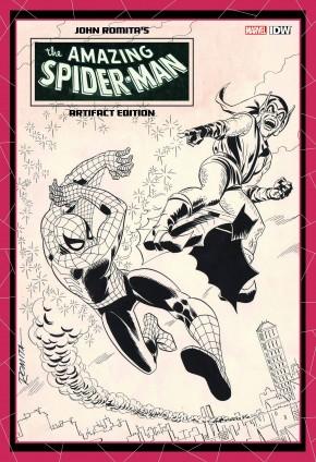 JOHN ROMITA AMAZING SPIDER-MAN ARTIFACT EDITION HARDCOVER