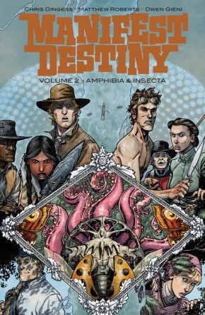 MANIFEST DESTINY VOLUME 2 AMPHIBIA AND INSECTA GRAPHIC NOVEL