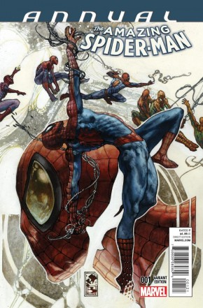 AMAZING SPIDER-MAN ANNUAL #1 (2014 SERIES) BIANCHI VARIANT