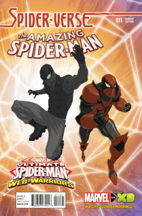 AMAZING SPIDER-MAN #11 (2014 SERIES) MARVEL ANIMATION 1 IN 10 INCENTIVE